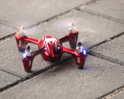 Hubsan X4 H107C V2 Upgraded met 2MP camera
