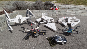 De Star Wars drone collectie van Olivier.