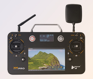 De 10-Channel Transceiver met FPV