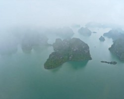 Ha Long-baai, gefilmd door Max Seigal