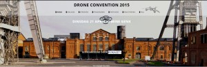 Drone Convention 2015 in Genk