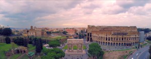 Colosseum in Rome met Phantom 2