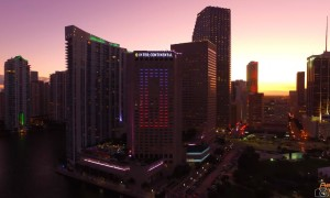 Schitterende drone video Miami 4K