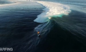 Prachtige surf video Teahupo'o, Du Ciel